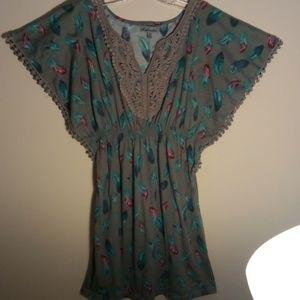 Dresses & Skirts - Mod Modele dress Feathers ❤️